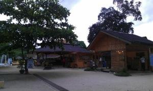 BlueJaz Resort, Samal Island - Main Reception and grounds