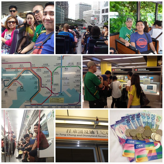 The Hong Kong Commute: Buses, Trains and Trams